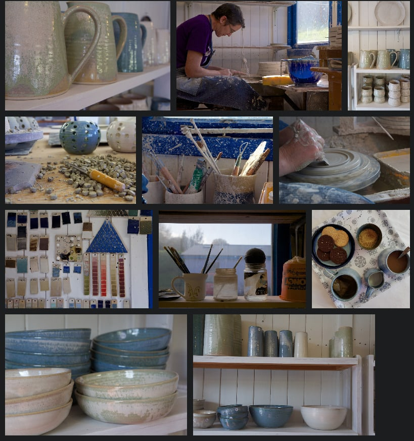 rainy day pottery studio ireland wild atlantic way