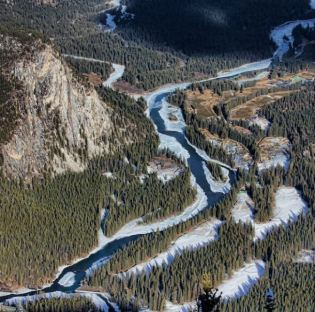 Bow River Valley photo