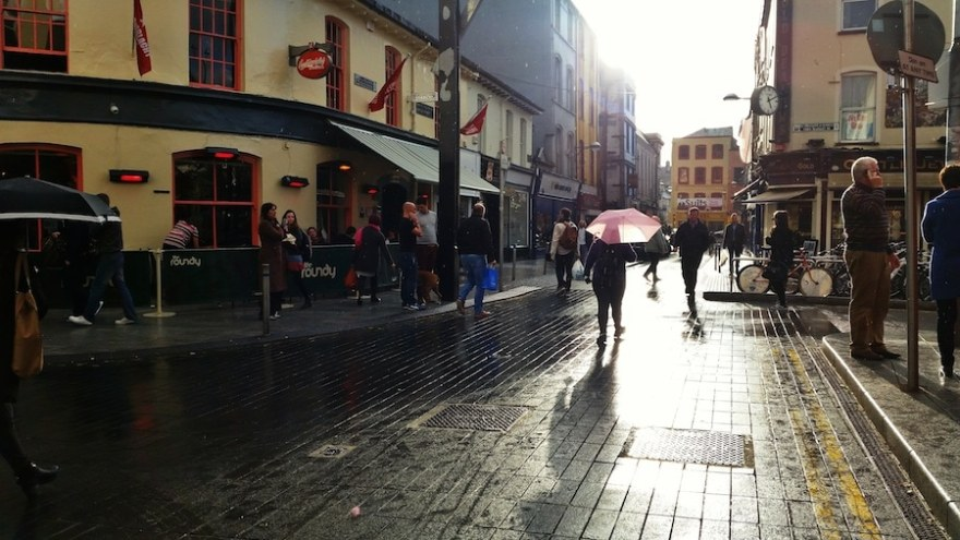 Walking Map Cork City Ireland