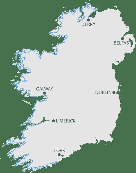 Wild Atlantice Way Map