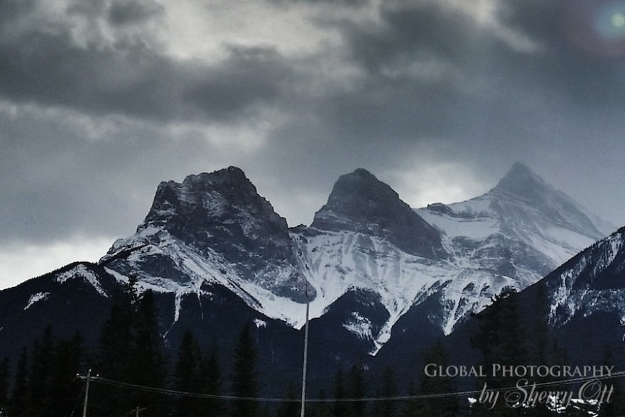 Canmore Three Sisters