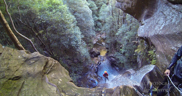 canyoning blue mountains australia