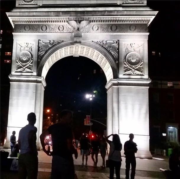 Washington Square Park Instagram