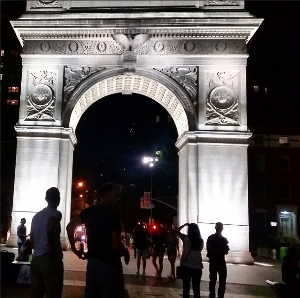 Washington Square Park Instagram