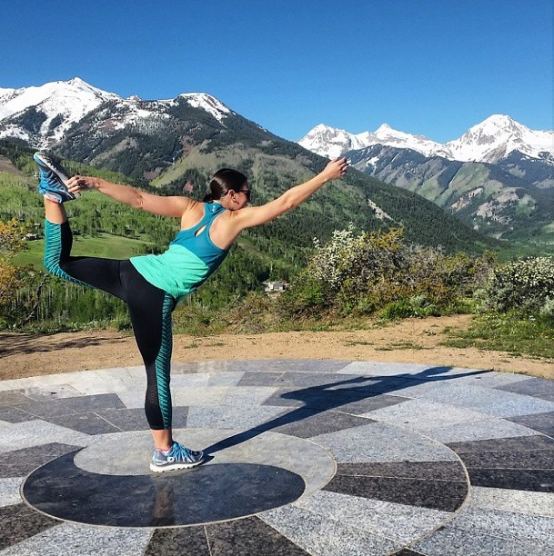 Colorado Rocky Mountains Yoga