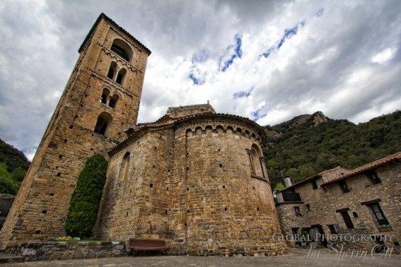 church of St. Cristòfol de Bege