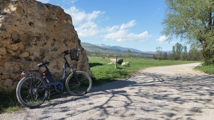 Electric biking in Pyrenees