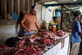 Bazurto Catagena butchers