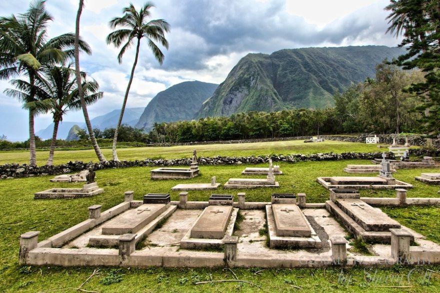 Molokai Hawaii kalaupapa cemetery