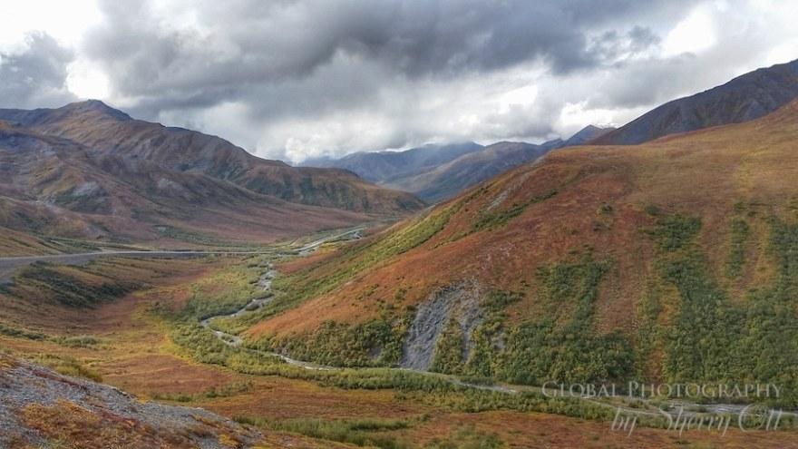 Dalton Highway Alaska Fall
