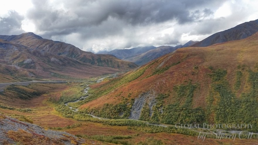Dalton Highway Alaska Fall