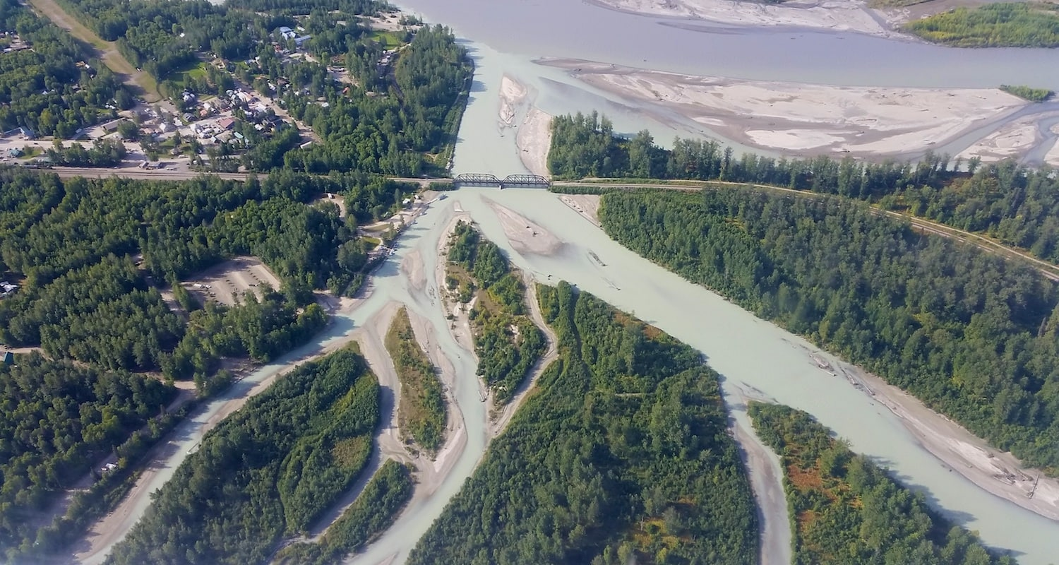Alaska bush flights talkeetna