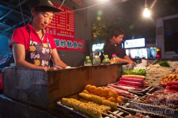 Food in china markets
