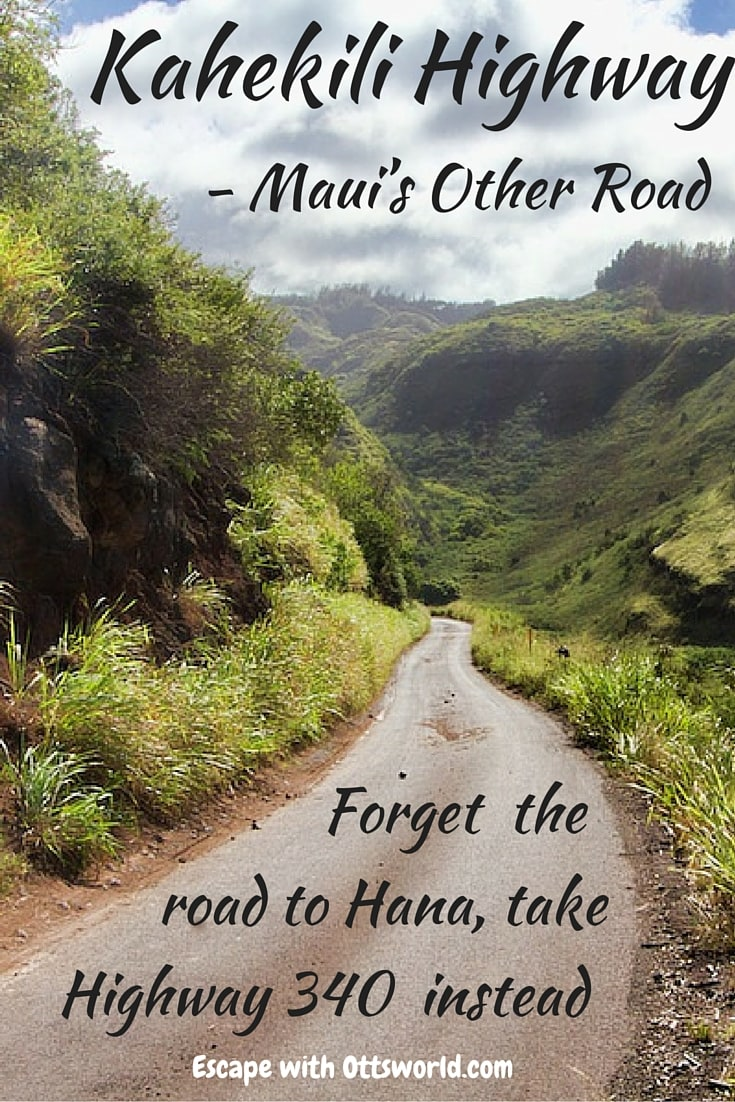 Drive Maui's Other Road
