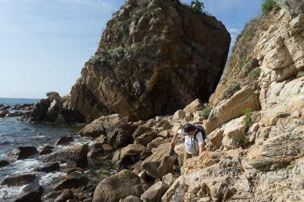hiking trail costa brava