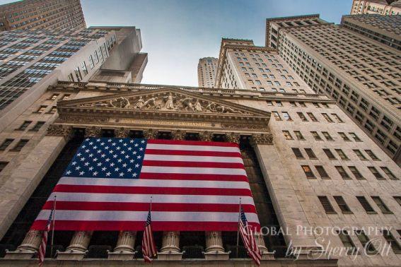 Wall Street Lower manhattan