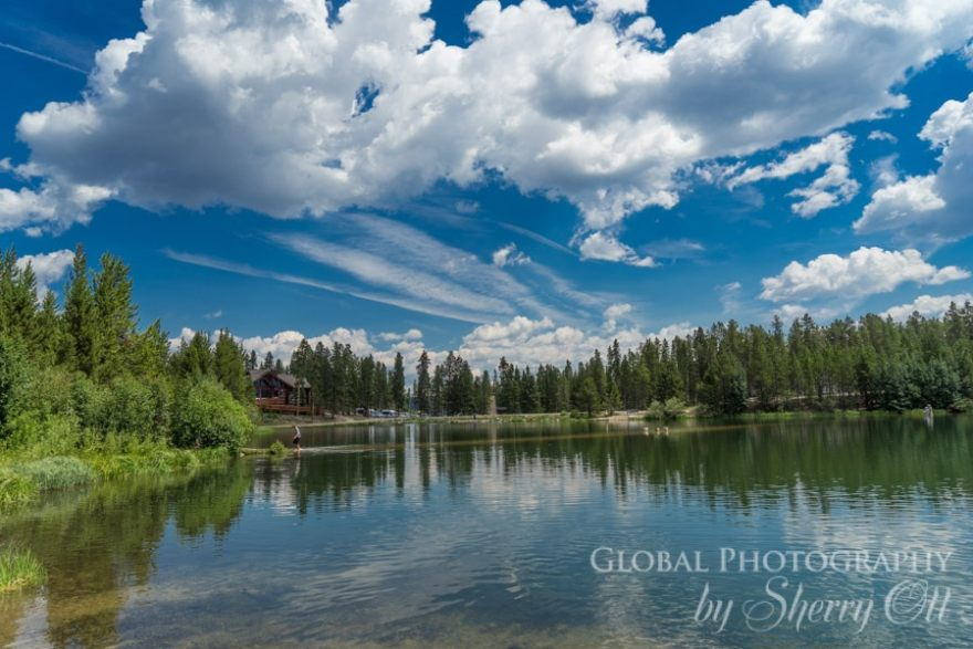 Breckenridge lake view - how to plan a family vacation