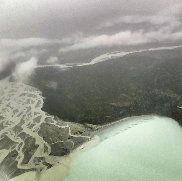 Alaska Wilderness from above