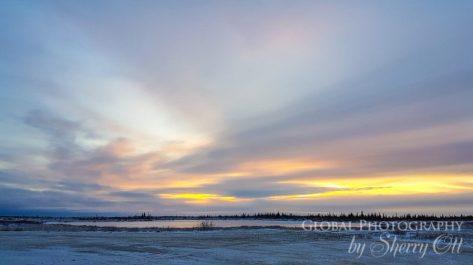 tundra sunrise churchill