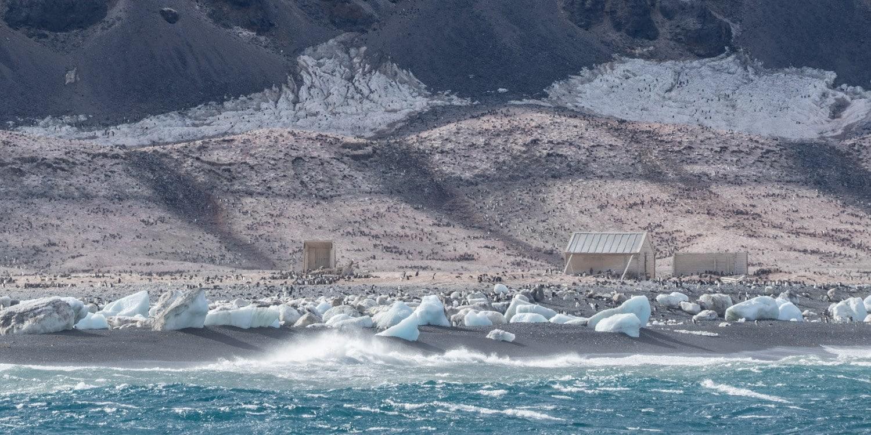 Ross Sea Cape Adare historic huts