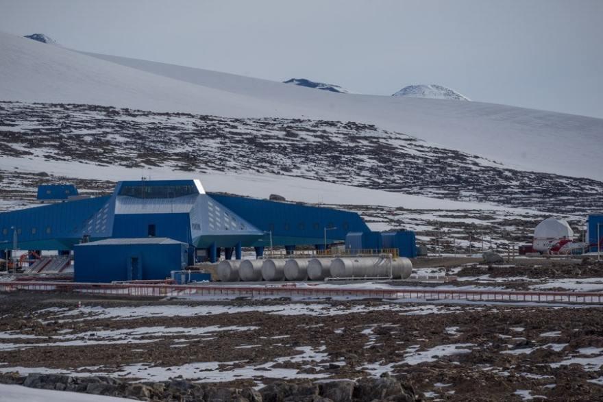 Gondwana Terra Nova Bay in Antarctica
