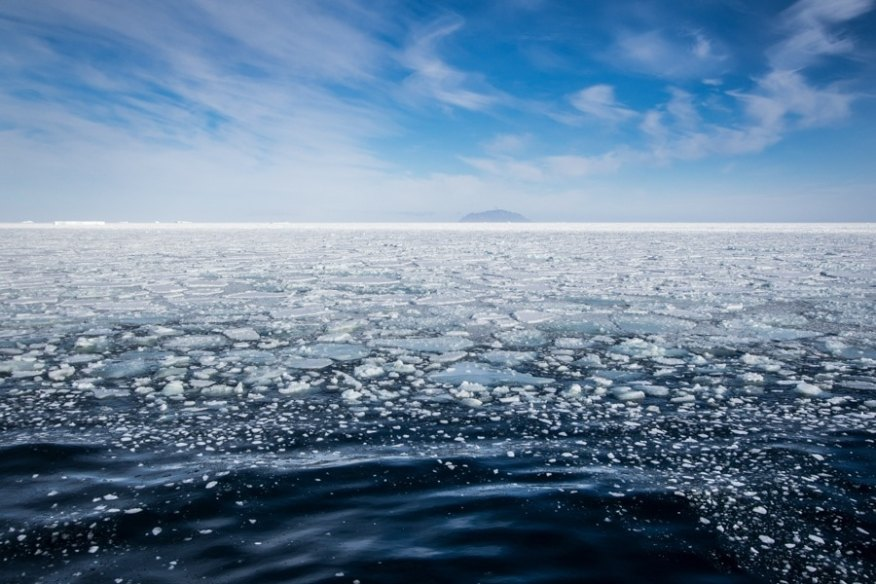 mcmurdo sound Iced in
