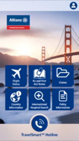 travelsmart travel insurance app