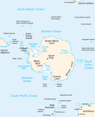 New Zealand Islands map