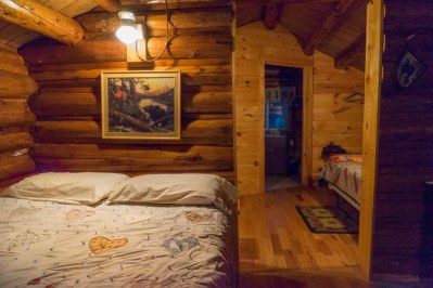 sporting camp cabin maine