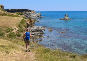 costa brava coastal path thru hike