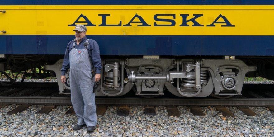 Hurricane Turn Train Conductor Warren Redfearn