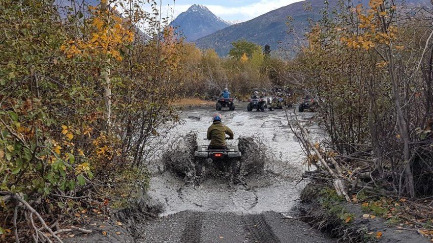Anchorage Tour ATV Knik Glacier