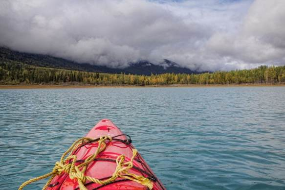 Anchorage Tour eklunta lake kayak