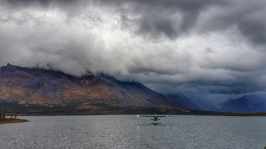 extreme travel to lake clark national park float plane