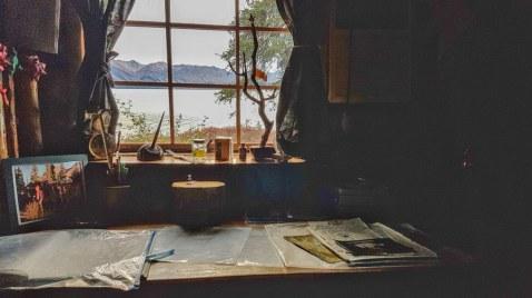 Dick Proenekke cabin twin lakes