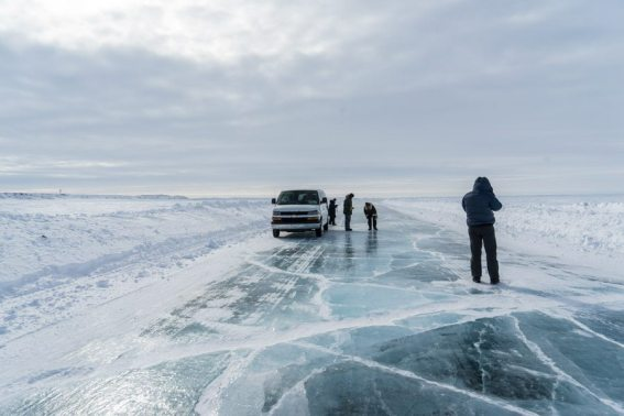 ice road arctic adventure inuvik