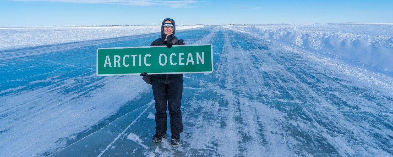 arctic adventure ice road inuvik