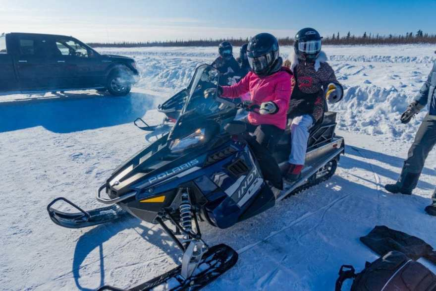arctic adventure snowmobile