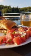 houseboat vacation food