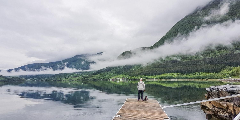 Norway Road Trip Romsdals Fjord