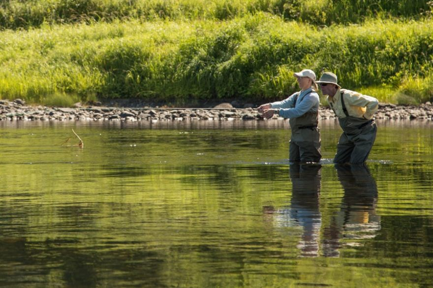 Miramichi river fly fishing