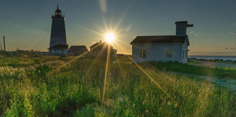 Sunset on the Acadian Peninsula