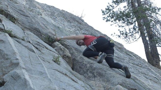 California Adventures Slab climbing Horseshoe Lake-6