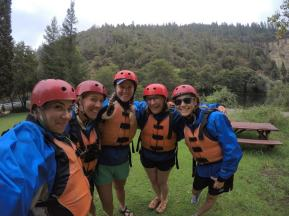 American River White water rafting