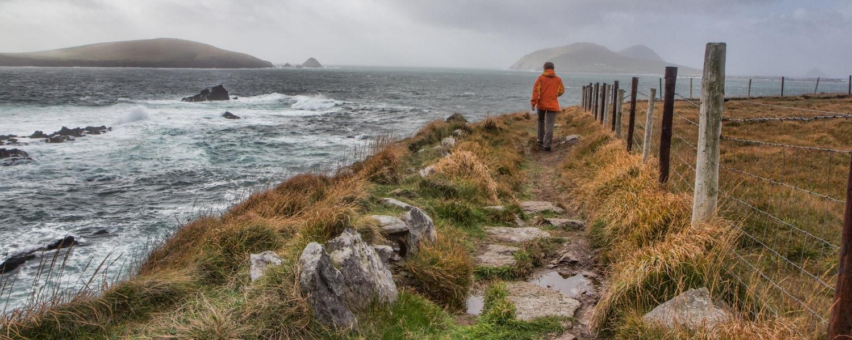 hiking in dingle ireland