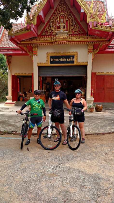 Biking thailand cycle tour