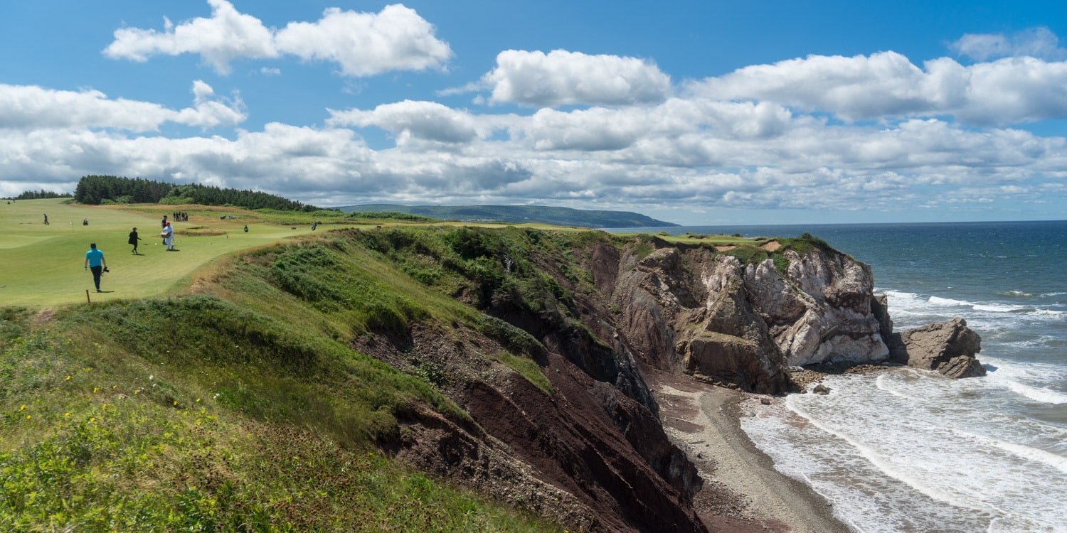 Hole 16 Cabot Cliffs