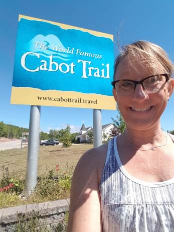 cabot trail sign