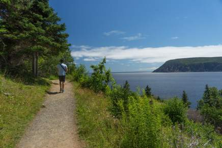Middle Head Hike Cabot Trail