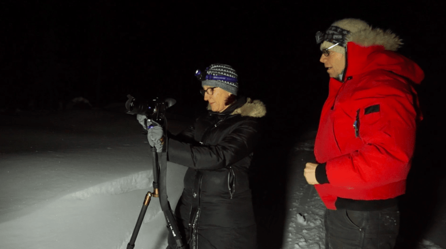northern lights photography workshop
